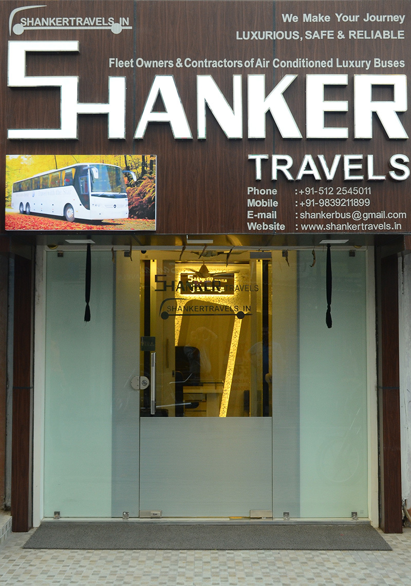 Shanker Travels - Kanpur Office (Exterior View)