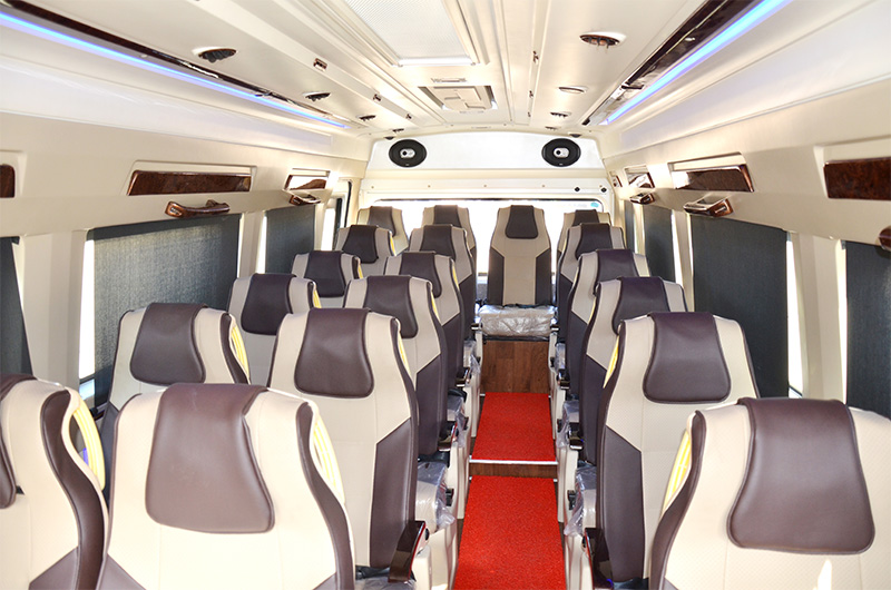 19 Seats Coach (Interior View)