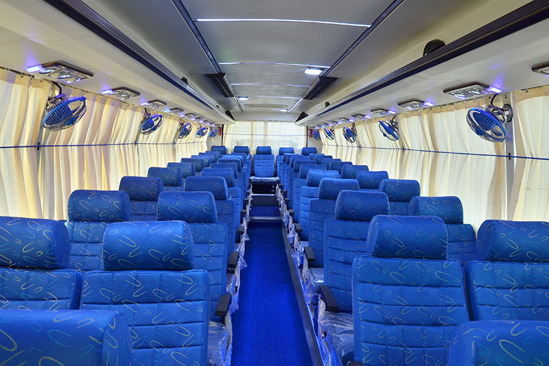 45 Seats Coach (Interior View)